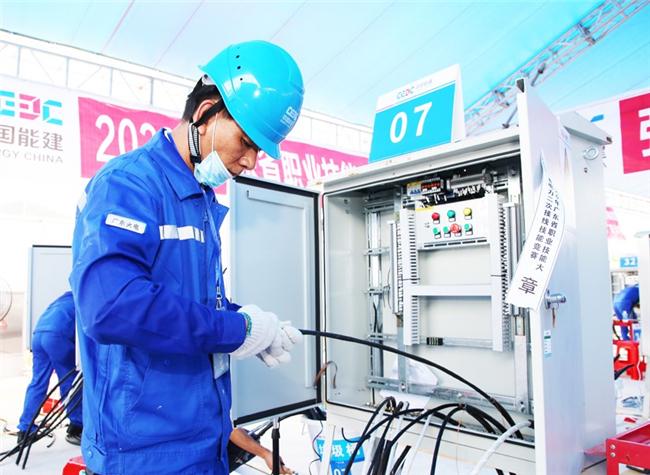 省职业技能大赛电力二次接线工职业技能竞赛收官